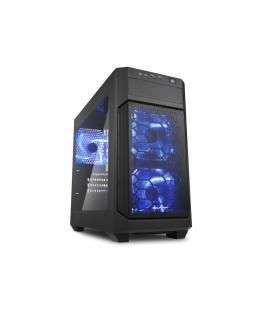 Sharkoon V1000 WINDOW Negro carcasa de ordenador - Imagen 1