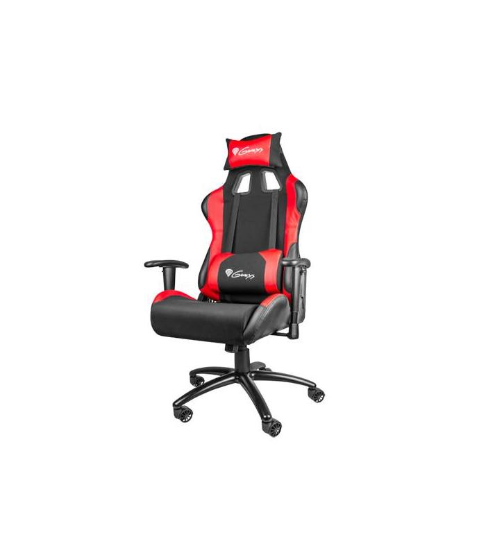 Genesis silla gaming nitro 550 roja for Rebajas sillas gaming
