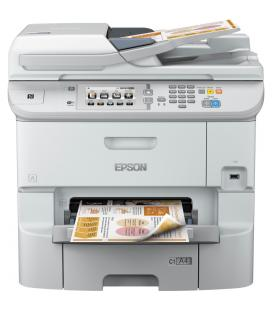 Multifuncion epson inyeccion color wf-6590dwf workforce pro fax/ a4/ 34ppm/ usb/ red/ wifi/ wifi direct/ duplex todas las funcio