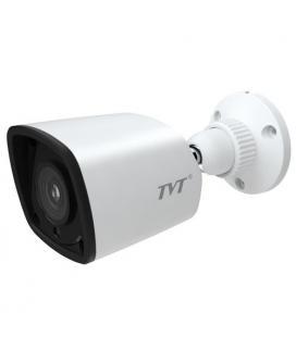 Cámara IP Bullet TVT 4Mpx 1080p. lente fija 3,6mm .IR 20m . POE
