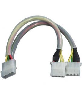 Revoltec RC040. Cable ladrón Molex 4-pin Flashing