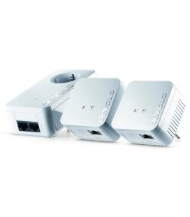 Devolo dLAN 550 WiFi Network Kit PLC 500Mbit/s Ethernet Wifi Blanco 3pieza(s)