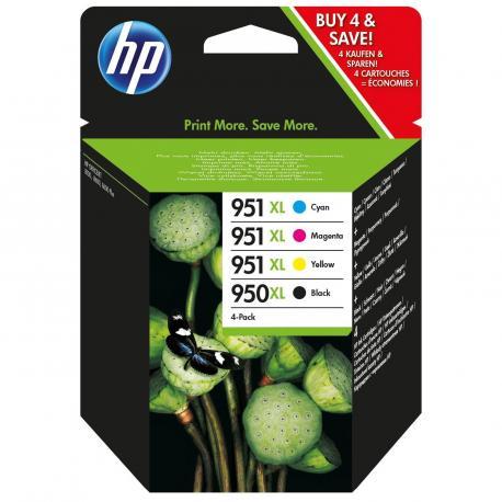 MULTIPACK 4 CARTUCHOS HP Nº950XL - Imagen 1
