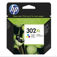 Cartucho color hp nº302xl - 330 páginas - para officejet 3830 / 3832 / 3630 / deskjet 1110 / 2130 / envy 4520 / 4650