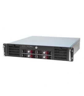 Travla T-2340. Caja Rack 2U 0W 4 HD Hot-Swap Micro -ATX - Imagen 1