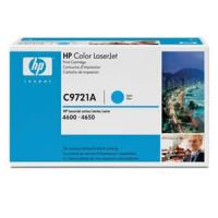 Toner cian hp c9721a 8000 pags laserjet color series 4600 / 4610 / 4650