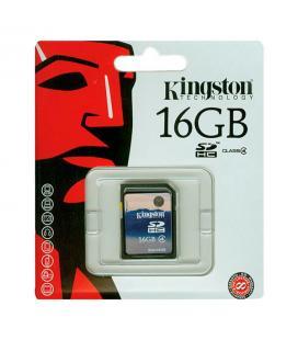 Tarjeta de memoria Kingston SDHC 16 GB