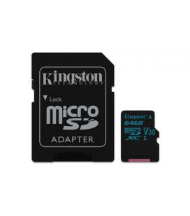 Kingston Canvas Go! 64GB MicroSDXC UHS-I Clase 10
