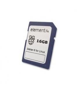 SD/MicroSD 16Gb con Linux Debian 8 para Raspberry Pi - Imagen 1