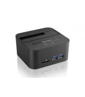 Sharkoon QuickPort XT HC PRO USB 3.1 (3.1 Gen 2) Type-B Negro - Imagen 1