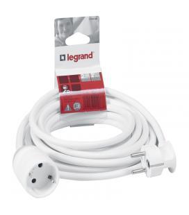 Prolongador legrand 390233 2p+t - 3 metros - blanco