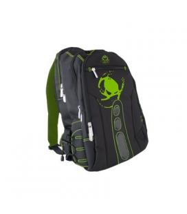 "KEEP OUT BK7G Mochila 15.6"" Gaming  Negro y Verde"