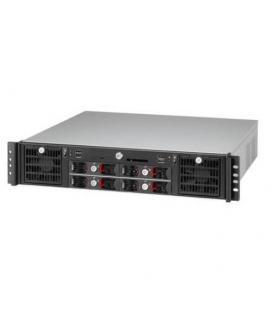 Travla T-2240 0W 4 HD y DOS placas Mini-ITX. Rack 2U