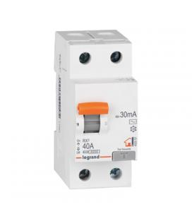 Interruptor diferencial legrand 402056e - rx3 25a