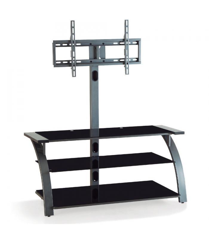 Soporte de pie con mueble for Mueble con soporte para tv
