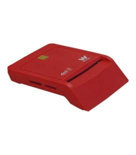 Woxter PE26-148 Interior USB 2.0 Rojo lector de tarjeta inteligente