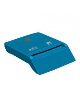 Woxter PE26-143 Interior USB 2.0 Azul lector de tarjeta inteligente - Imagen 1