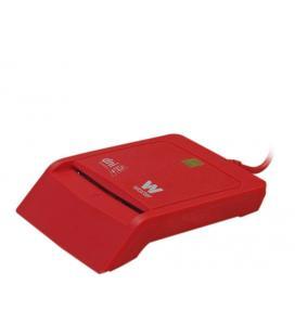 Woxter PE26-145 Interior USB 2.0 Rojo lector de tarjeta inteligente