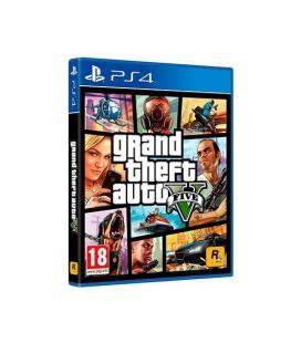 JUEGO SONY PS4 GTA V - Imagen 1