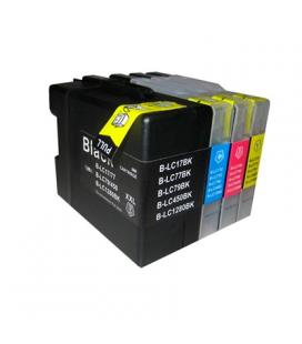 INKOEM Cartucho Compatible Brother LC1280XXC Cian - Imagen 1