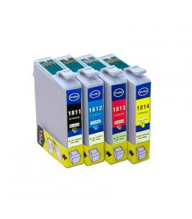 INKOEM Cartucho Compatible Epson T1814XL Amarillo - Imagen 1