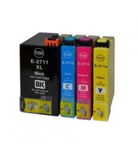 INKOEM Cartucho Compatible Epson T2712 Cian XL - Imagen 1