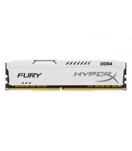 MEMORIA KINGSTON HYPERX FURY DDR4 8GB 3466MHZ CL19 1RX8 WHITE HX434C19FW2/8