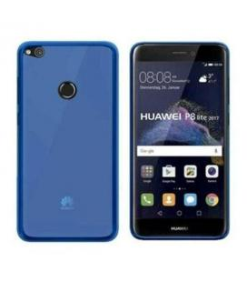 Funda silicona azul Huawei P8 lite 2017
