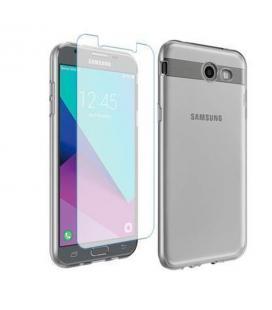 Funda transparente + cristal templado Samsung Galaxy J7 2017 J730