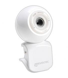 Revoltec RZ042. Webcam W1 Blanca Collectors Edition - Imagen 1