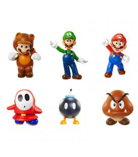 Figura Super Mario Bros Nintendo 6cm surtido