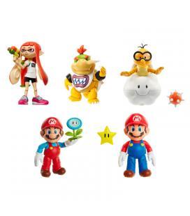 Figura Super Mario Bros Nintendo 10cm surtido