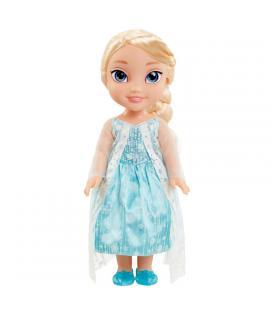 Muñeca Elsa Frozen Disney 35cm capa glitter