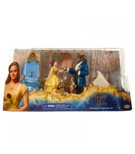 Set figuras La Bella y la Bestia Disney