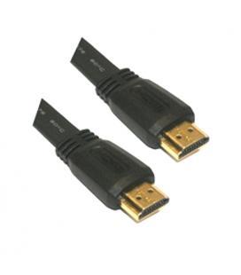 Cable HDMI V1.4 (Alta velocidad / HEC) con ferrita. A/M-A/M. 3.0m