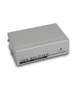 Duplicador VGA (Splitter) para 4 monitores con alimentación