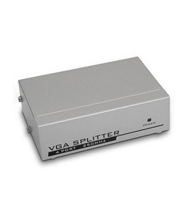 Duplicador VGA (Splitter) para 4 monitores con alimentación - Imagen 1