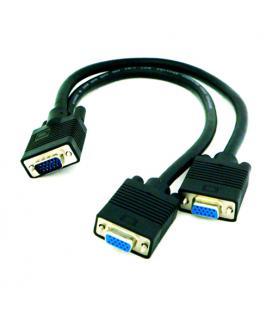 Cable bifurcador SVGA. HDB15/M-2xHDB15/H. 45cm