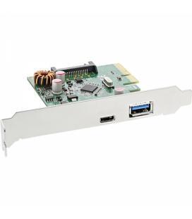 Inline 76660A. Tarjeta PCIe 2 x USB3.1 (1 tipo A y otro tipo C)