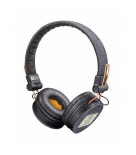 Auriculares trust urban fyber grey/red - gran calidad sonido - plegables - función manos libres - jack 3.5mm