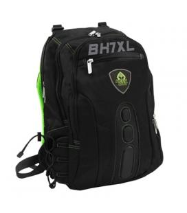 "Keep Out  BK7GXL  Mochila 17"" Gaming Green"