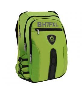 "Keep Out  BK7FGXL  Mochila 17"" Full Gaming Green"