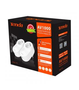TENDA KIT POWERLINE AV1000 1000MBPS, ETHERNET, ENCHUFE AC (PH6)