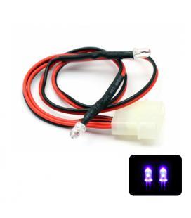 Phobya LED Doble 5mm. Ultrahell UV - Imagen 1