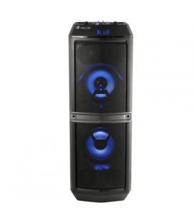 NGS Torre de Sonido 200W Doble sub.BT/USB/FM Radio