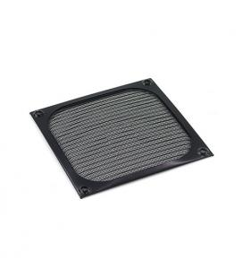 Filtro aluminio 80x80 Negro Cuadrado - Imagen 1