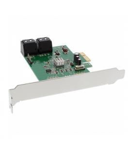 Inline 76617E. Tarjeta PCIeX1 4xSATA 6Gb/s - Imagen 1