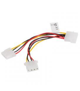 Cable duplicador molex lanberg ca-hdhd-10cu-0015 - 1x conector macho - 2x conectores hembra - 15 cm