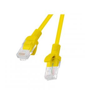 Latiguillo de red lanberg pcu6-10cc-0200-y - rj45 - utp - cat 6 - 2m - amarillo