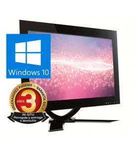 "Ordenador phoenix all in one concept intel core i5 8gb ddr4  ssd 240gb led 23.5""  rw wifi webcam windows 10"